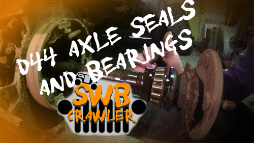 Dana 44 axle seals and bearings
