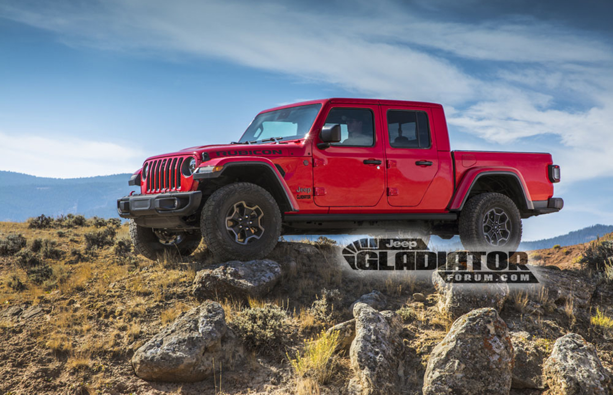 Jeep JT Gladiator Leaked!