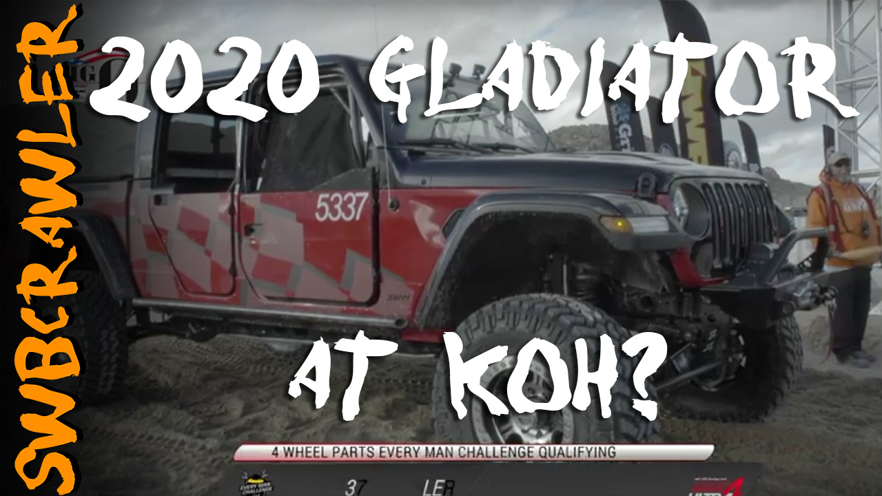 "A ""stock"" 2020 Jeep Gladiator racing KoH?"