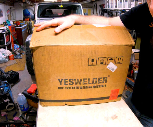 Yeswelder TIG-205DS unboxing and beginner TIG chat