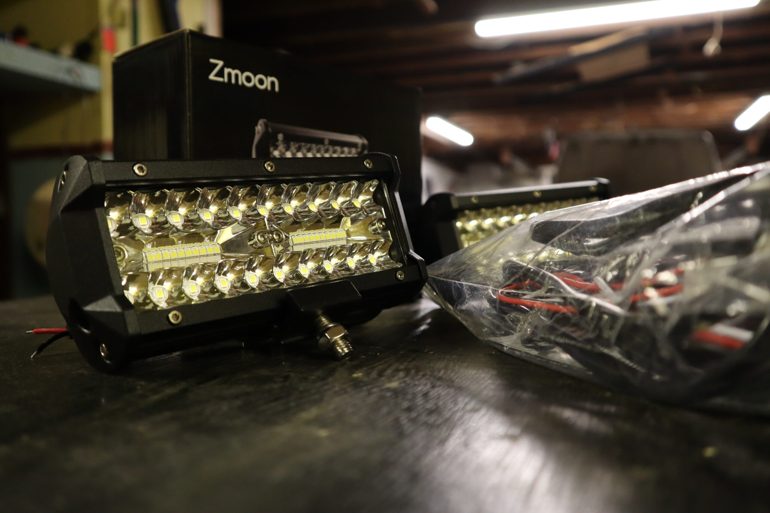 $34 LED Lights? Lets see what that's all about. Zmoon 4″ LED lights review!