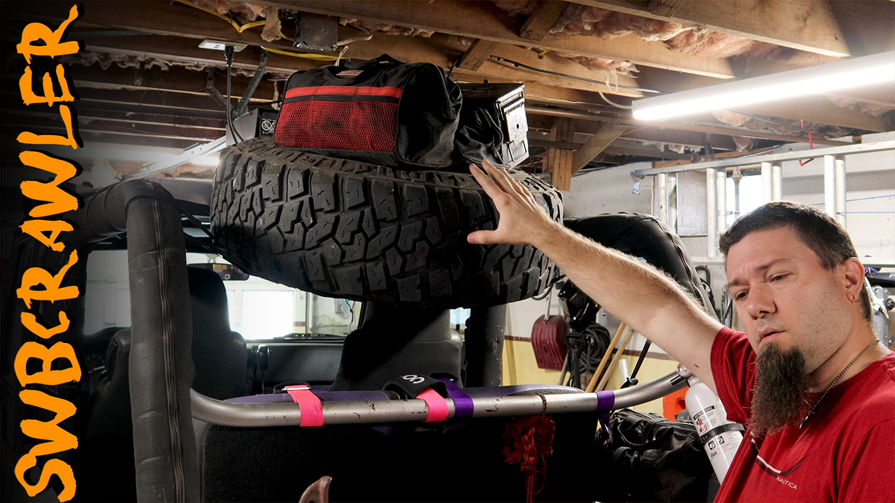 JoyTutus Cargo Net for Jeep Wrangler