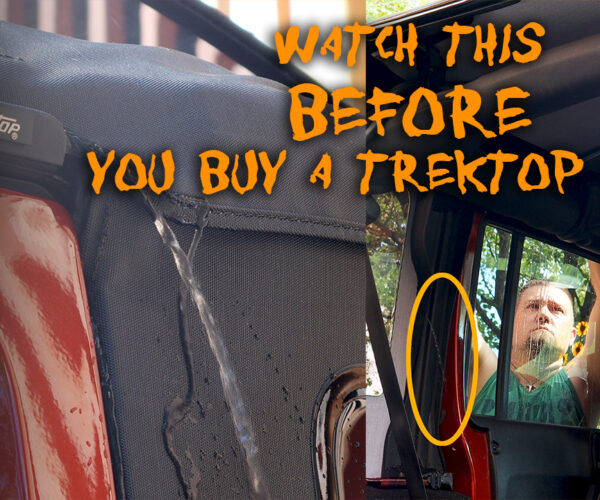 Watch this video before buying a Bestop Trektop Glide for JKU.