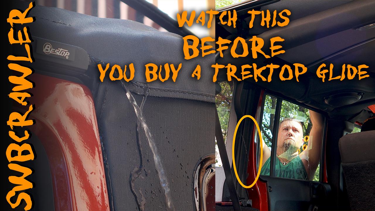 Watch this video before buying a Bestop Trektop Glide for JKU.