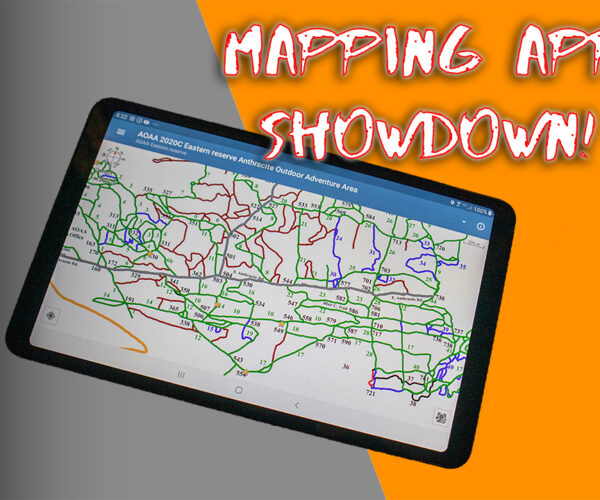 Trail Mapping Apps Comparison! I'm comparing 6 apps, Maprika, OnX Offroad, Gaia GPS, BackCountry Nav