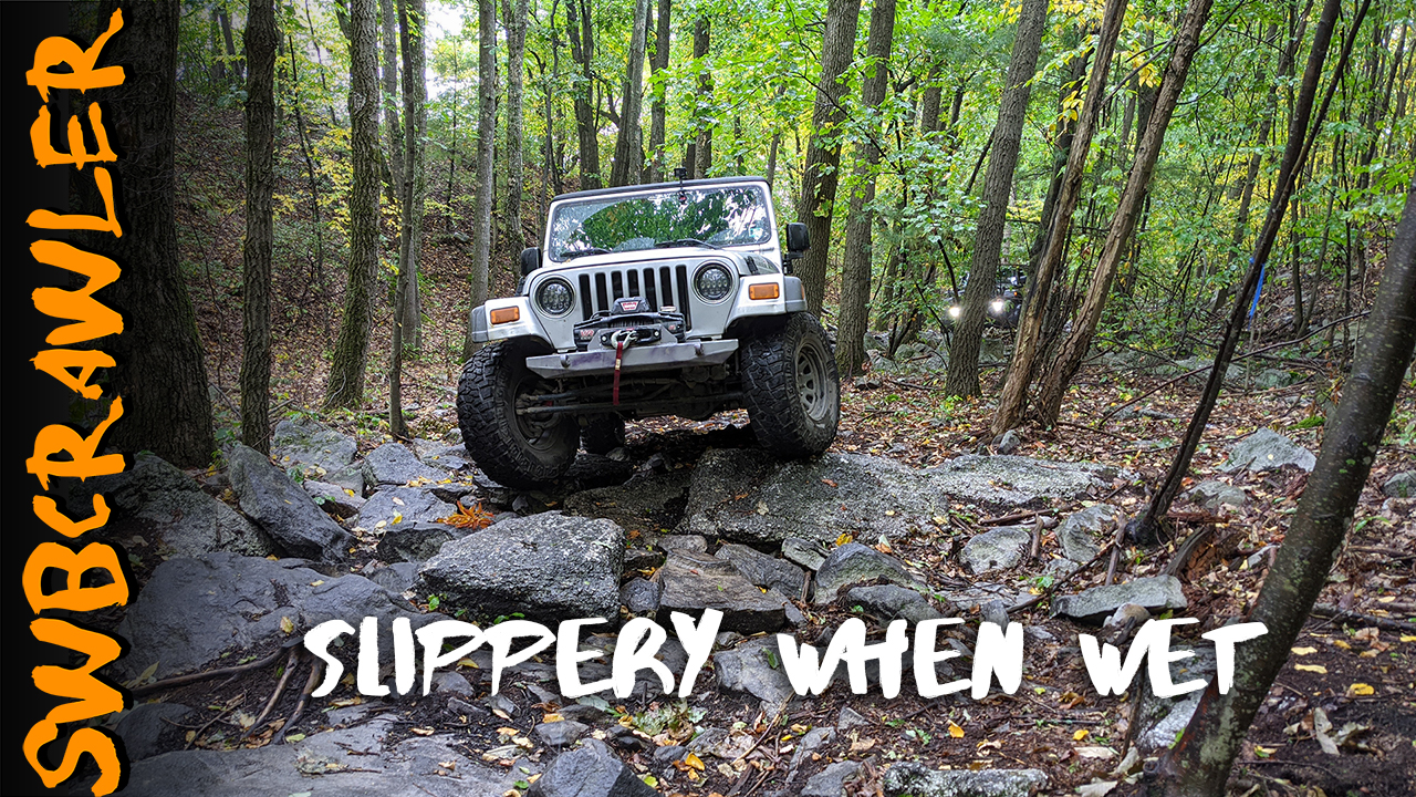 Rock Crawling at the Anthracite Outdoor Adventure Area Trail 102B, with the Blacktop Warriors!