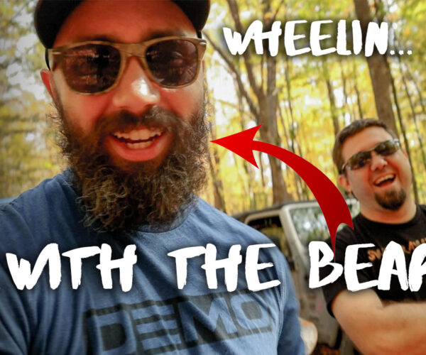 Wheeling Class 6 Roads in New Hampshire with The Bearded Jeeper!