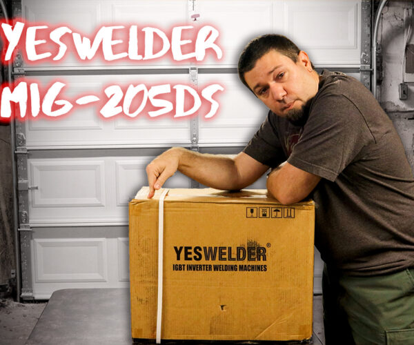 Unbox to Weld with the YesWelder MIG-205DS
