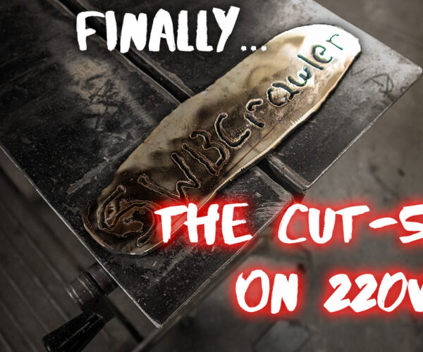 How well does the Yeswelder Cut-55DS cut when it's got a proper 220 line? Let's find out!