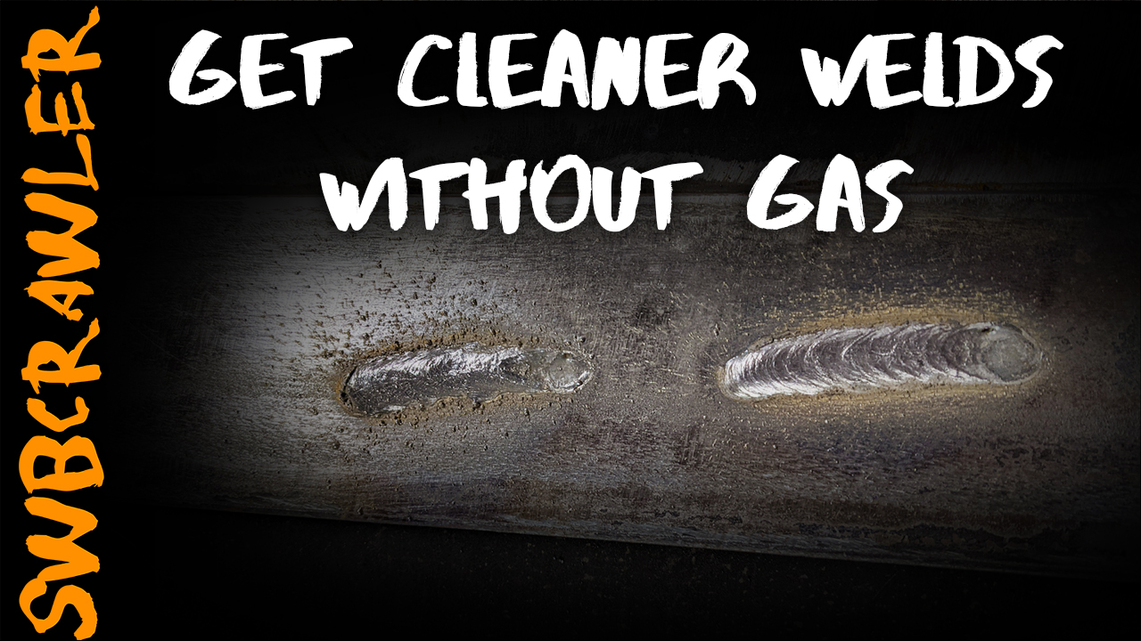 Get Cleaner FCAW welds without switching to gas!