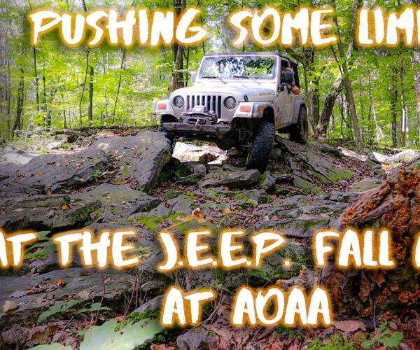 I finally get my Jeep LJ off road after my lift – Finding my new limits at the AOAA